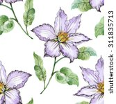 seamless floral pattern on...   Shutterstock . vector #311835713