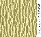elegant pattern. golden pattern.... | Shutterstock .eps vector #311938067