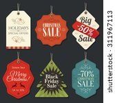 retail sale tags and clearance... | Shutterstock .eps vector #311967113