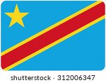a flag illustration with... | Shutterstock . vector #312006347
