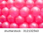 Colorful Balloons Blur Image.