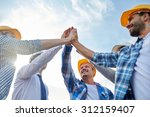 business  building  partnership ... | Shutterstock . vector #312159407