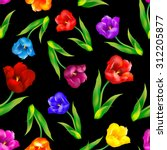 Seamless Floral Pattern Floral...
