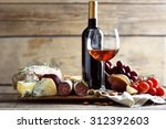 still life with various types... | Shutterstock . vector #312392603