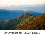 blue ridge parkway | Shutterstock . vector #312418013