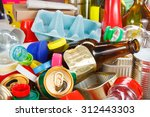 recycling garbage and reusable... | Shutterstock . vector #312443303