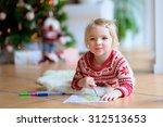Cute Little Kid  Writes Letter...