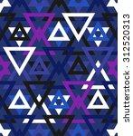 abstract geometric vector... | Shutterstock .eps vector #312520313
