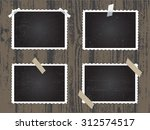 old photo frames.photo frames... | Shutterstock .eps vector #312574517