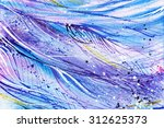 blue purple wave  line ... | Shutterstock . vector #312625373