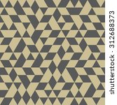 geometric  texture with gray... | Shutterstock . vector #312688373
