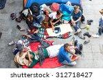 budapest  hungary   september... | Shutterstock . vector #312718427