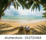 landscape of koh samui island... | Shutterstock . vector #312721463