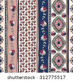 seamless paisley background.... | Shutterstock .eps vector #312775517