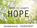inspirational typographic quote ...   Shutterstock . vector #312814337