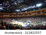 blurred background of sports... | Shutterstock . vector #312822557