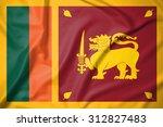 sri lanka flag on soft and... | Shutterstock . vector #312827483