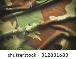 camouflage pattern   part of...   Shutterstock . vector #312831683