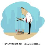 the image on the theme of... | Shutterstock .eps vector #312885863