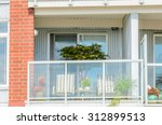 modern apartment buildings in... | Shutterstock . vector #312899513