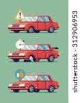 cool vector illustration on... | Shutterstock .eps vector #312906953