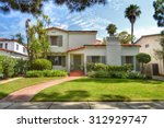 california dream houses and... | Shutterstock . vector #312929747