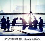 business people japanese... | Shutterstock . vector #312932603