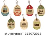 price tags set | Shutterstock .eps vector #313072013