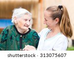 Photo Of Elderly Woman With He...
