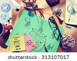 rule law forced ideas control... | Shutterstock . vector #313107017