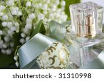 composition perfume  lily of... | Shutterstock . vector #31310998