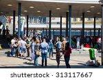 budapest  hungary   september... | Shutterstock . vector #313117667