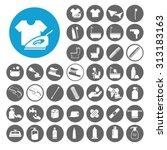 hygiene icons set. illustration ...   Shutterstock .eps vector #313183163