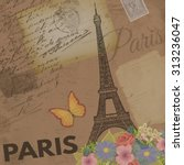 Paris Vintage Poster On...