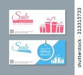 sale banners design vector | Shutterstock .eps vector #313315733