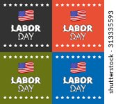 labor day | Shutterstock .eps vector #313335593