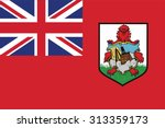 Flag Of Bermuda. Vector...