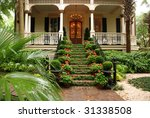 Beautiful Front Stairs And Yar...