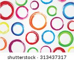 colorful circles background...