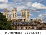 a view of york minster over the ...