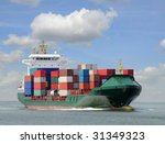 containership | Shutterstock . vector #31349323