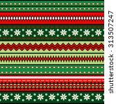 tribal art boho seamless... | Shutterstock .eps vector #313507247