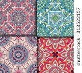 Seamless Patterns. Vintage...