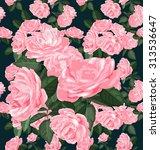 vector illustration of floral... | Shutterstock .eps vector #313536647