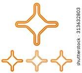 orange line corporate logo...
