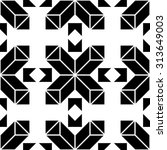 the geometric pattern by... | Shutterstock .eps vector #313649003