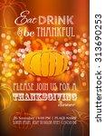 invitation design for a... | Shutterstock .eps vector #313690253