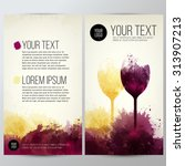 template with illustration of... | Shutterstock .eps vector #313907213