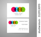 communication   template logo.... | Shutterstock .eps vector #313913093