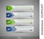 business banner for infographic ... | Shutterstock .eps vector #313951457